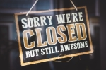 Closed, but still awesome - Door Sign